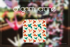 Origami Crane {Pattern} by Julieta7599