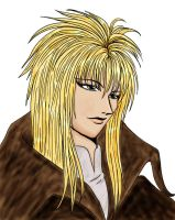 Jareth Portrait Colored by CharlotteElbourne