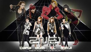 2NE1 'I Am The Best' X 'Can't Nobody' Wallpaper by 2-N-E-1---ROCKZ