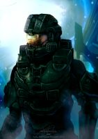 Halo 4: Chief's Return by WinterSpectrum