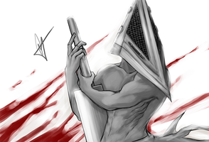 Pyramid Head by valefor