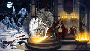 Game of Thrones by Pinkuh
