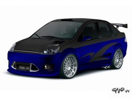 Ford Fiesta Sedan - VT by Askashi