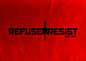 refuse resist logotype by abrakadavra