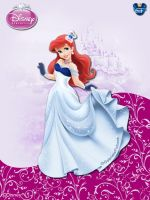 DisneyPrincess - Ariel3 ByGF by GFantasy92