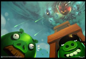 Angry Birds fan art by thiennh2