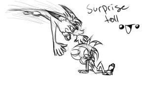 SURPRISE TROLL!!! by MtfoxX3