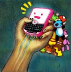 Technological Addiction by vosh