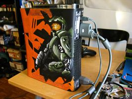 Halo 4 homemade Xbox #3 by EnergizerII