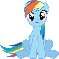 Rainbow Dash - What? by GeoNine