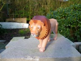 Lion Papercraft by dodoman75