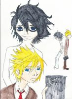 Roxas and Xion go Death Note by Isoli