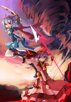 Touhou Project ~ Knight and warrior theme by ClearEchoes
