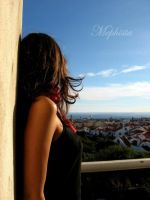 looking over the city by lady-mephista