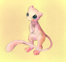 Mew by LizardonEievui13