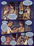 Book of Three comic page nine by saeriellyn