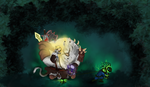 Fat Rengar Sold his boots? Use Lantern Airlines! by GrDreamer