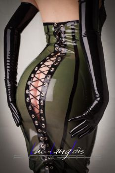 The Corset Dress by Madria-Latex