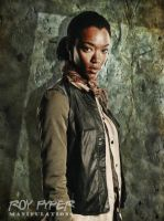 TWD: Sasha Williams: Oil Paint Edit by nerdboy69