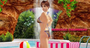 Rebecca Chambers    POOL-QUEEN!!!! by blw7920