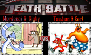 Mordecai and Rigby vs ToeJam and Earl by SonicPal