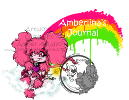 Amberlina rainbow header by PinkScooby54
