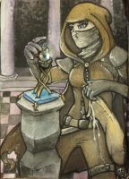 The Hiest- Aceo by rohirrimshadow
