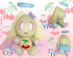 Cherry the Fruit Chao Plush by BriteWingz
