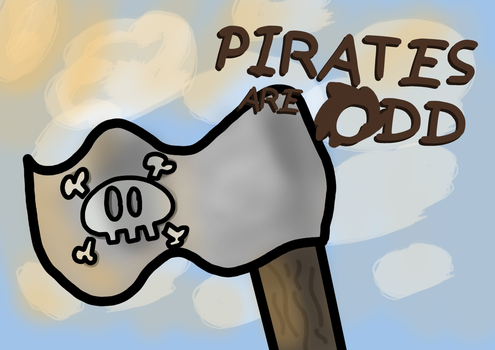 Redraw -- OBA: Pirates Are Odd Titlecard by PieLordPictures