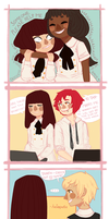 [EE] High School Interactions (1/?) by CatAnnabelle