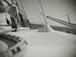 Bateau voilier by spinal123