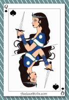 Sharna, Queen of Spades by Shay-Lunakinesis