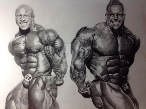 Philheath explore philheath on deviantart for Kai greene painting