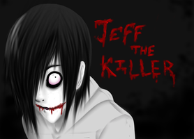 jeff the killer by xWitheringwilloWx