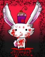 Cupcake The KILLER bunny by Bunnygirl51728