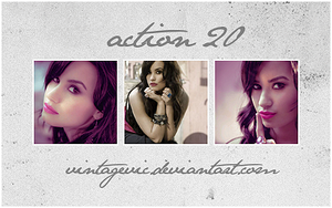 Action 20 by vintagevic