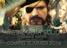 Snake Eater movie poster by videogamemoviemaster