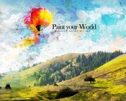 Paint your world by pincel3d