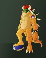 Bowser by Illustronomer