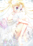Princess Serenity ~ 100th deviation !! by mintycatart