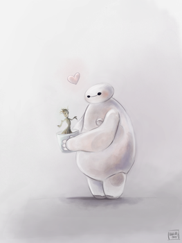 Baymax takes care by reh-kitz