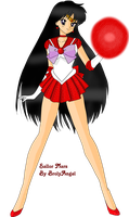 Sailor Mars by CrystalisZelda