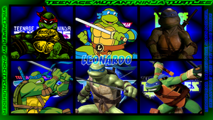 TMNT Generations 2 Wallpaper - Leonardo by 2ndCityCrusader