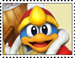 King Dedede's Stamp by RalphAguilar462