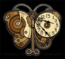 clockwork butterfly by littlecrow