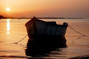 Sunset boat 6265829 by StockProject1
