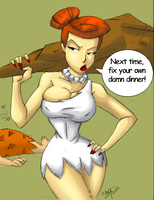 Wilma Flinstone Colors by Little-Katydid