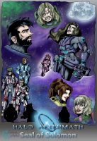 Halo Aftermath: Seal of Solomon by Luna-237