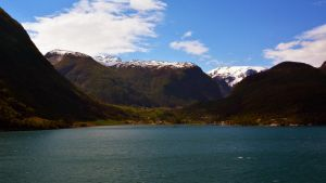 Sailing the fjords to Skjolden 15 by abelamario