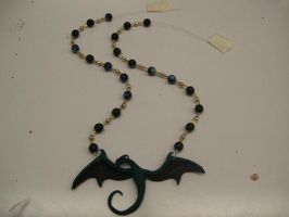 Dragon Necklace by WyvernFlames